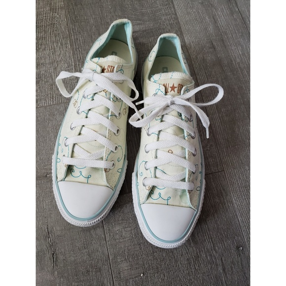 Converse All Star Bee Print Size 10 Women's